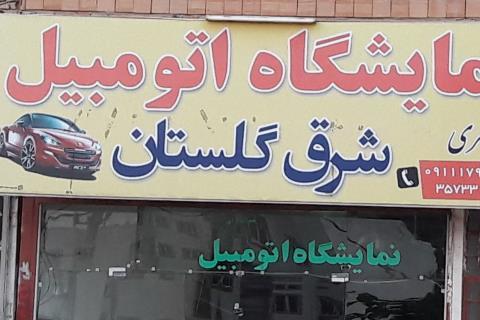 نمایشگاه اتومبیل شرق گلستان